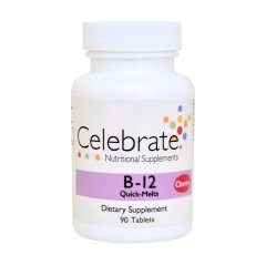 Celebrate Vitamin B12 Quick Melt