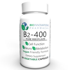 Bio-Innovations Vitamin B2 Riboflavin 400 mg