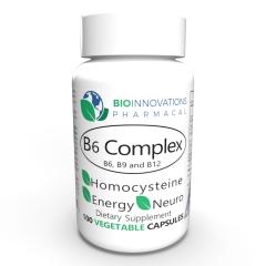 Bio-Innovations Vitamin B6 mit Folsäure und Vitamin B12