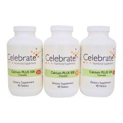 Celebrate Calcium PLUS 500 Kauwtabletten
