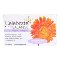Celebrate BALANCE Probiotica + Prebiotica Capsules