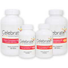 Celebrate Multi-Complete Chewable Tablets Gastric Bypass