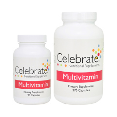 Celebrate Multivitamine zonder IJzer Capsules