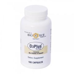 Bio-Tech D3Plus mit Vitamin K2, Magnesium, Boron, Zinc