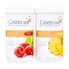 Celebrate IJzer + C Soft Chews