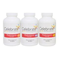 Celebrate Multivitamine zonder IJzer Kauwtabletten