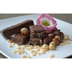 Eiwitreep Skinny Hazelnoot-Chocolade Crunch
