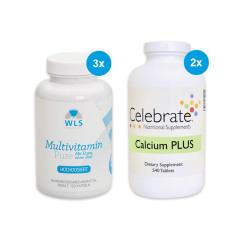 6-Monatspaket WLS Vitamin+Calcium für Magenbypass/Schlauchmagen