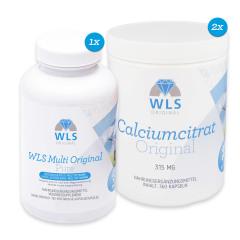WLS Original Multivitamin+Calcium für 6 Monate, für Magenbypass/Schlauchmagen