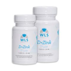 WLS Vitamin D+Zink, 5.000 IE+ 25 mg