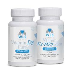 WLS Vitamin D Loading Therapy (stoss): Vitamin D3 50.000 + Vitamin K2 500 mcg