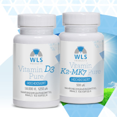 WLS Vitamin D Loading Therapy (stoss): Vitamin D3 50.000 + Vitamin K2 500 mcg
