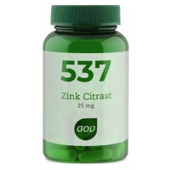 Zink Citraat 25 mg, 90 vegetarische capsules